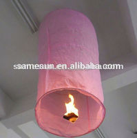 Flame resistant wishing balloons sky lanterns for advertise