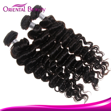 Latest Fashion Human Hair Weave Continuous Soft Model Hair Extension Wholesale Reliable Supplier Offer Brazilian Deep Wave
