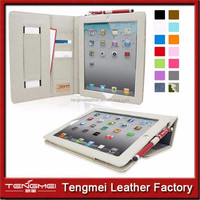 """New Arrival For IPAD Case 9.7"""", For IPAD PU Leather Case For IPAD 4 Cover"""