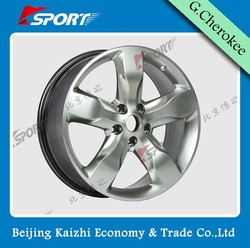 4X4 SUV 20x8 wheel rim with aluminum alloy material, alloy wheel rim can be used for Jeep grand cherokee WK