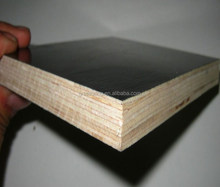 Trade Assurance 17.5mm outdoor construction poplar core wbp glue concrete film faced plywood