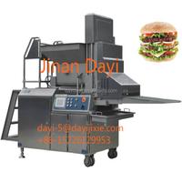 Automatic Patty Hamburger Machine/Automatic Meat Bread Machine