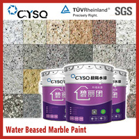 Water based stone texture wall paint