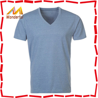 Men's 100% cotton blank muscle t shirts/simple style fitted muscle t shirts bulk wholesale