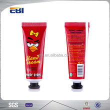 Empty nice foil hot stamping cosmetic tubes