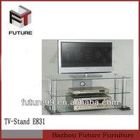 Modern Glass mechanical bed tv lift stand living room furniture