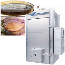Fish meat baking equipment with fish fillet trolley