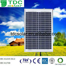 A-grade& high efficiency 25W poly solar panel solar panel price in india is lowest with TUV,CE Certificate