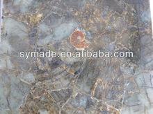 Semi precious stone mosaic tile /Labradorite stone tile