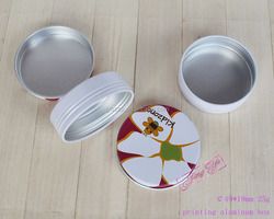15g/20g/25g/30g aluminum cosmetic containers,15g custom aluminum boxes