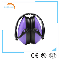 Sound Proof Safety Purple Earmuffs
