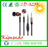 Durable Factory Price Earphone with CE and ROHS certificate for Promotion