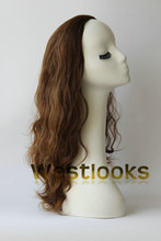 New Product Mongolian Wavy Wig Jewish Hair Band Fall