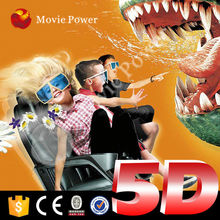 Most popular electric and hydraulic 5d cinema platform good carrying capacity