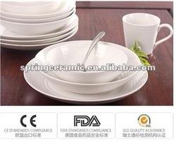 plain ceramic pie plate