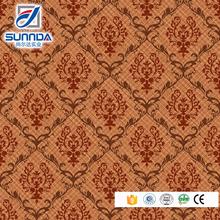 Sunnda follower pattern glazed vitrified floor tile design