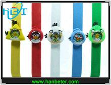Wholesale product pantone color slap watch water resistant silicone usb bracelet watch