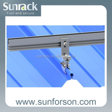 2015 home solar system installation pv roof mount support structure