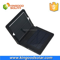 With PVC case and portable universal Solar power bank charger 8000mah for ipad4 and mobile phone