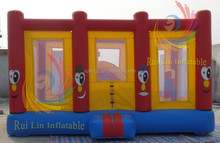 indoor small inflatable city for kids