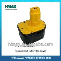 3.0Ah 12V Cordless Drill Battery for DE9074