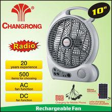 10 de''''de ventilador de radio