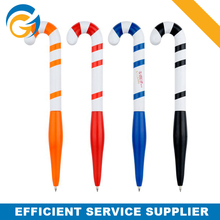 Candy Cane Plastic Ball Pen