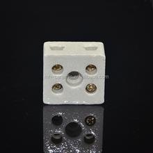 high quality steatite ceramic 2-pole terminal blocks