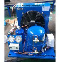 milk condensing unit and evaporator condenser units , quick freezing equipment unit