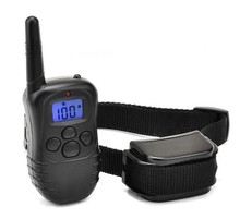 Rechargeable Remote Training E-collar with Safe Beep, Vibration and Shock Electronic Electric Collar