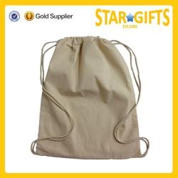 Chian Suppliers Wholesale Recycled Plain Custom Printed Cotton Drawstring Shoe Bag