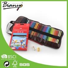 OEM Professional Faber Castell wood Artist color pencils 48 set, watercolour pencil wholesale