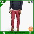 bolsillos laterales y el bolsillo de la moneda slim fit pantalones pantalones baratos hombres pantalones chino