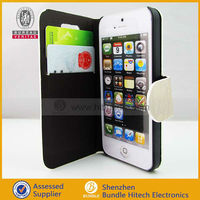 for iphone5 protective PU case ,ultra slim battery case for iphone 5