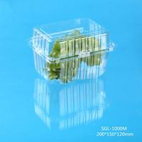 hot sale grape plastic fruit packaging transparent box