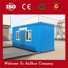 Newest Promotion Price!!! steel structure two bedroom design container 20ft room