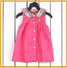 Girls dresses cotton girls pink frocks designs frock designs for small girls