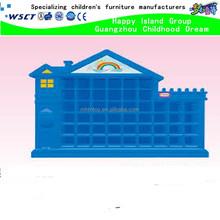 kindergarten school furniture of wooden cupboard for children