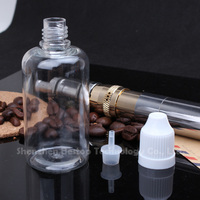 Aliexpress squeeze e-liquid juice smoking bottle With tamperproof cap for package perfume