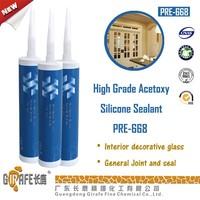 Hot sale General purpose RTV 1 Acetice quick dry silicone sealant