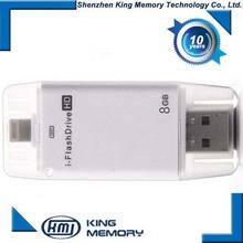 iFlash Device 32G 16G 8G 16G OTG Flash Drive Disk USB for iPhone 6 6s 5 5s iPad Air iPod External USB Flash Drive