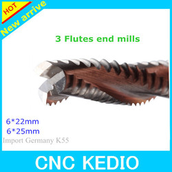 CNC Tungsten Carbide Rough End Mills/Solid Carbide Rouging EndMill Cutting Tools For Aluminum
