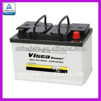Dry car battery 56638 12V66AH VISCA