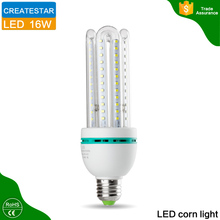modern design b22 to e27 adapter led replacement bulbs 24w U shape led bulbs price with CE RoHS