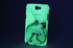 3D noctilucent sublimation phone case for Samsung Galaxy Note 3 cover