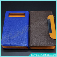 Large Size Universal Phone Pouch Flip Leather Case, fit 5.7~6.0 inch smart phone wholesale