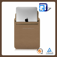 New Arrival Pouch For iPad Mini Tab Bag Case, Top Quality Ultra Slim Fiber Leather Case Pouch for iPad Mini Bag