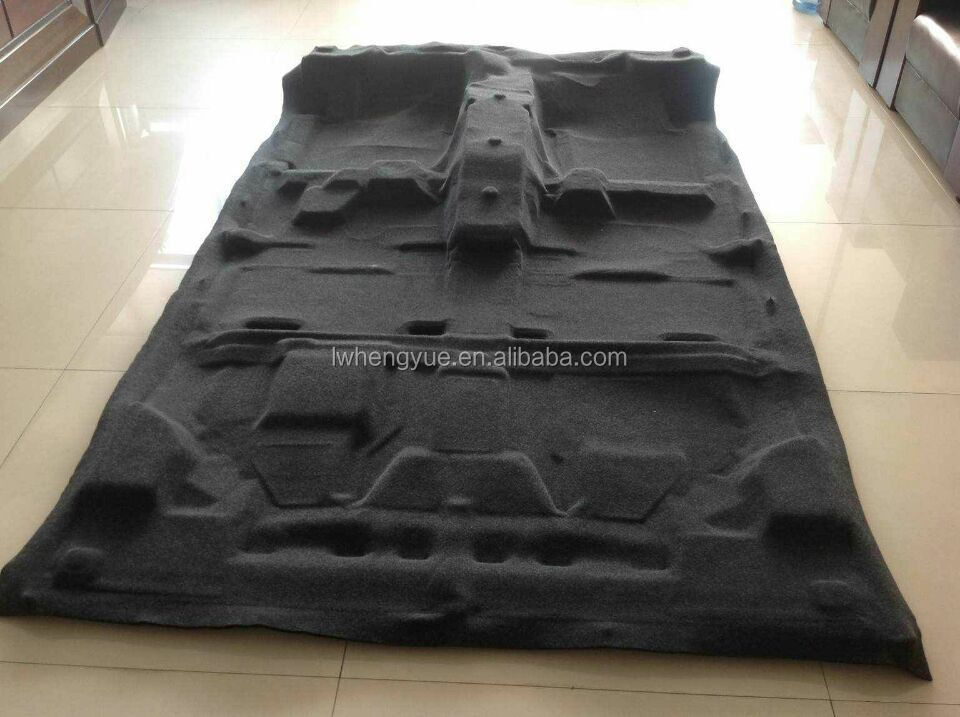 auto interior non woven moulding polyester felt for car floor hubcap buy interior moulding. Black Bedroom Furniture Sets. Home Design Ideas