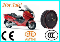 Electric Motor 48v 7kw,High Power High Torque Electric Geared Hub Motor,Rear Wheel Hub Motor For Electric Scooter,Amthi