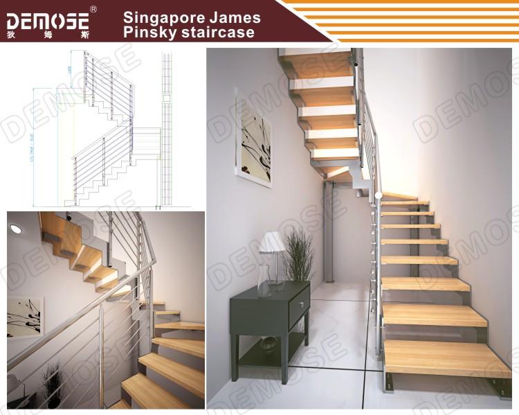 현대적인 인테리어 계단/ 계단 디자인 아이디어를 작은 집-계단 ...